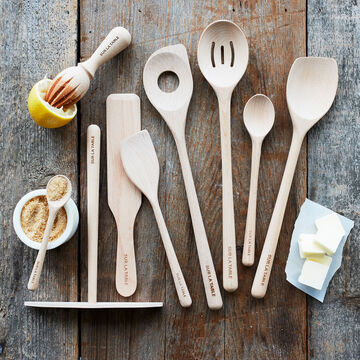 Sur La Table Beechwood Sauté Spoon