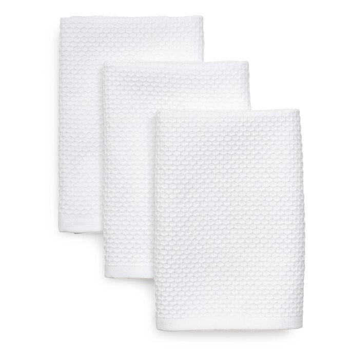 "Dual-Sided Dishcloths, 11"" x 13"", Set of 3"