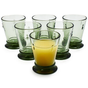 La Rochère Green French Bee Tumblers, Set of 6