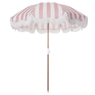 Striped Outdoor Umbrella