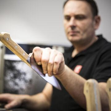 "Zwilling Pro Holm Oak Chef's Knife, 6"""