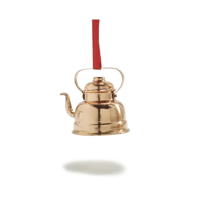 Teapot Copper Ornament