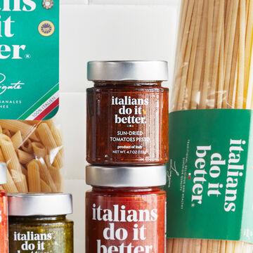 Italians Do It Better Sun-Dried Tomato Rosso Pesto, 4.7 oz.