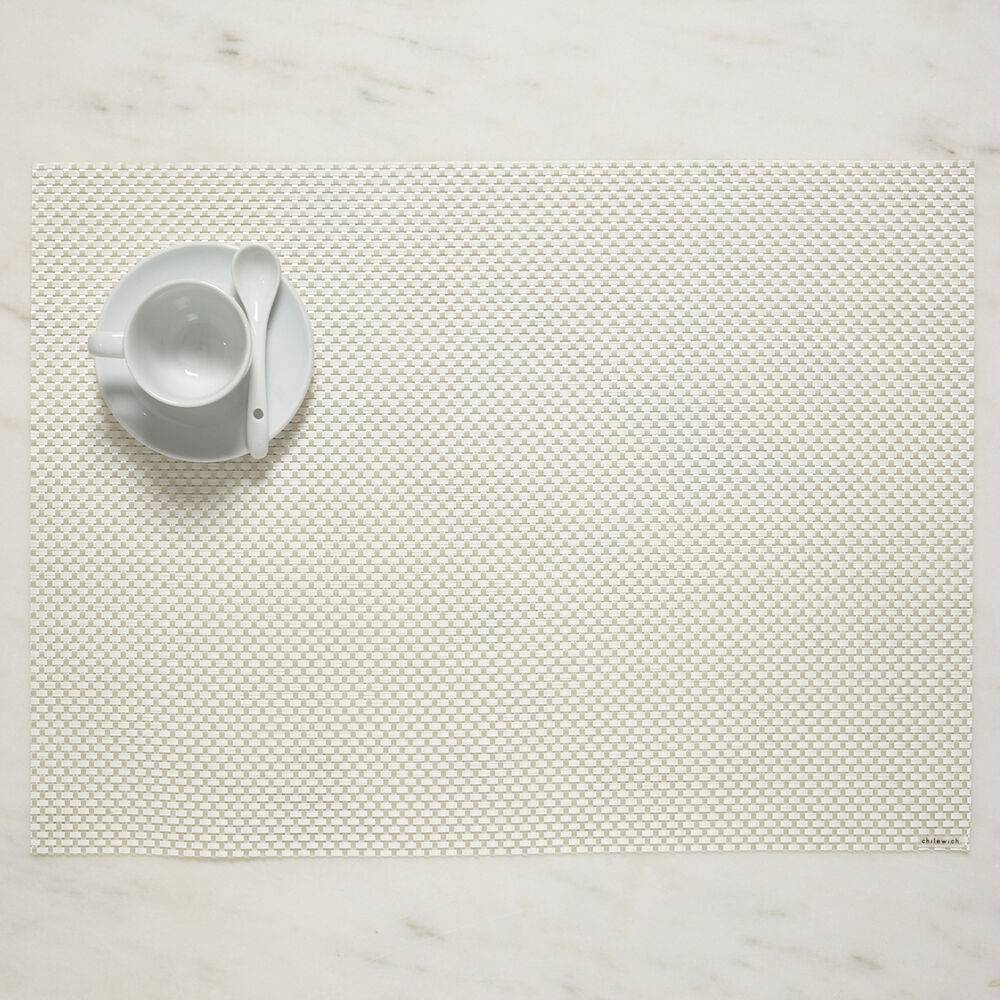 """Chilewich Basketweave Placemat, 19"""" x 14"""""""
