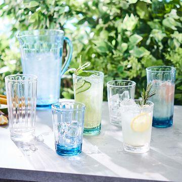Outdoor Paneled Hiball Glass