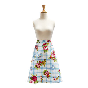 Rose Garden Half Apron by April Cornell