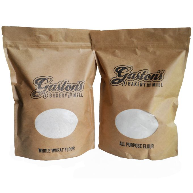 Gaston's Bakery All Purpose & Whole Wheat Flour Assortment, 6 Bags