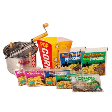 Stainless Steel Whirley Pop Popping Kit Variety Pack
