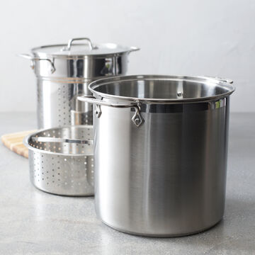 All-Clad Stockpot with Pasta and Steamer Insert, 4-piece
