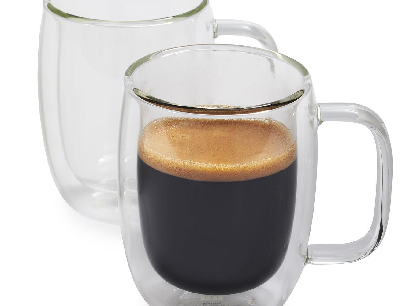 Zwilling J.A. Henckels Sorrento Plus Double-Wall Double Espresso Glasses, 4.5 oz., Set of 2   Sur La Table