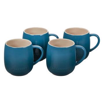 Le Creuset Heritage Mugs, 14 OZ., Set of 4