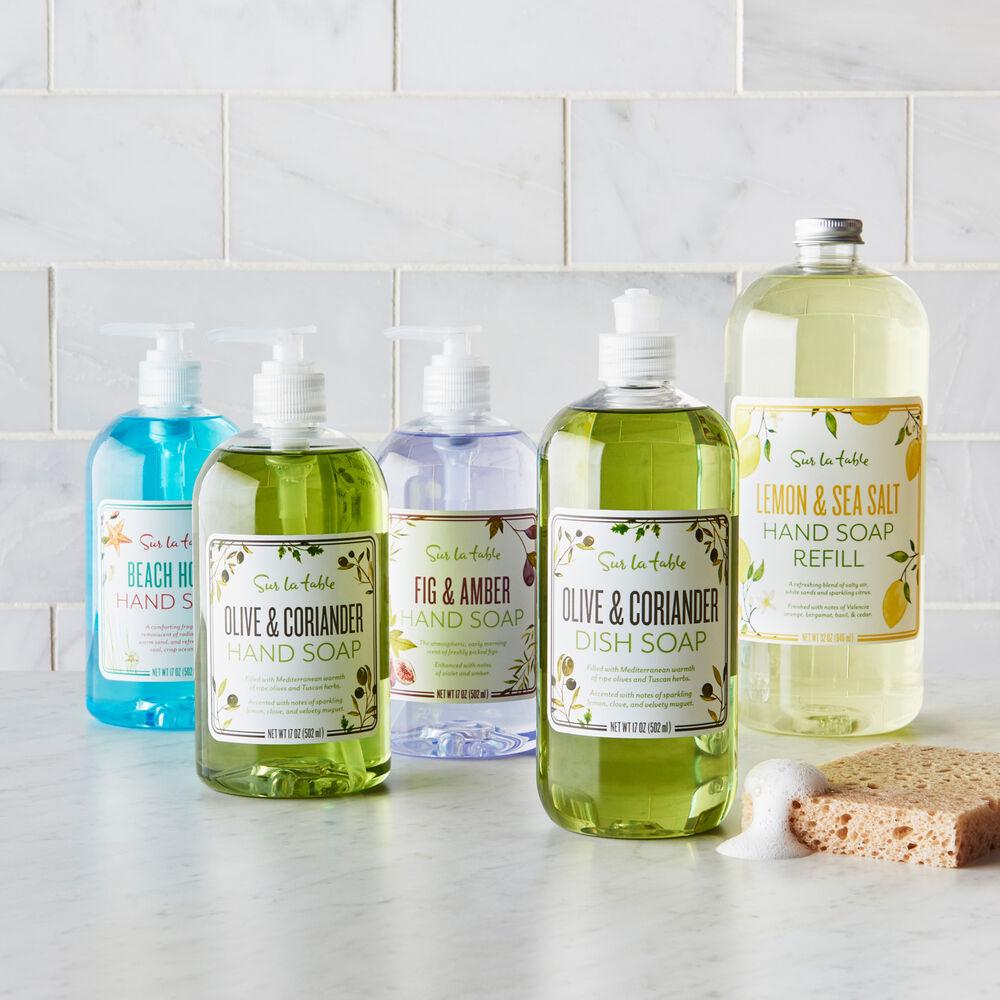 Sur La Table Olive & Coriander Dish Soap, 16 oz.