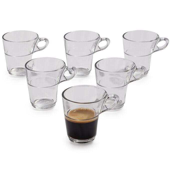 Duralex Caprice Espresso Mugs, Set of 6