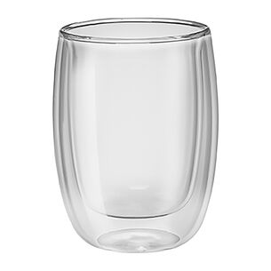 Zwilling J.A. Henckels Double-Wall Coffee Glasses, Set of 2