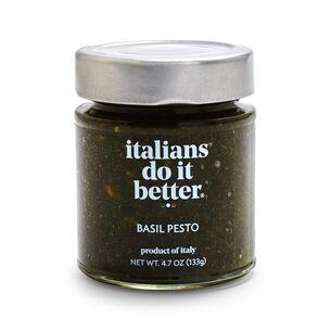 Italians Do It Better Basil Pesto, 4.7 oz.