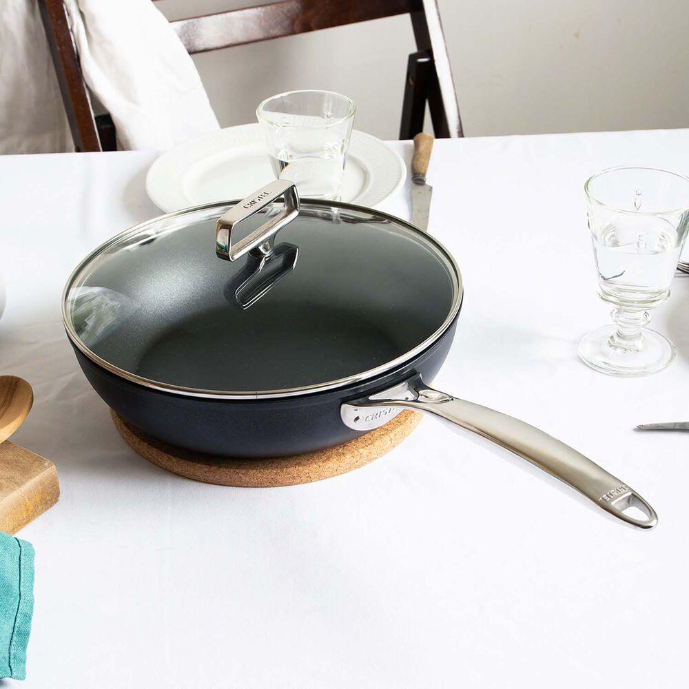 Cristel Castel'Pro ULTRALU Nonstick Sauté Pans with Glass Lid
