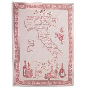 """Vini Italian Jacquard Kitchen Towel, 30"""" x 22"""""""
