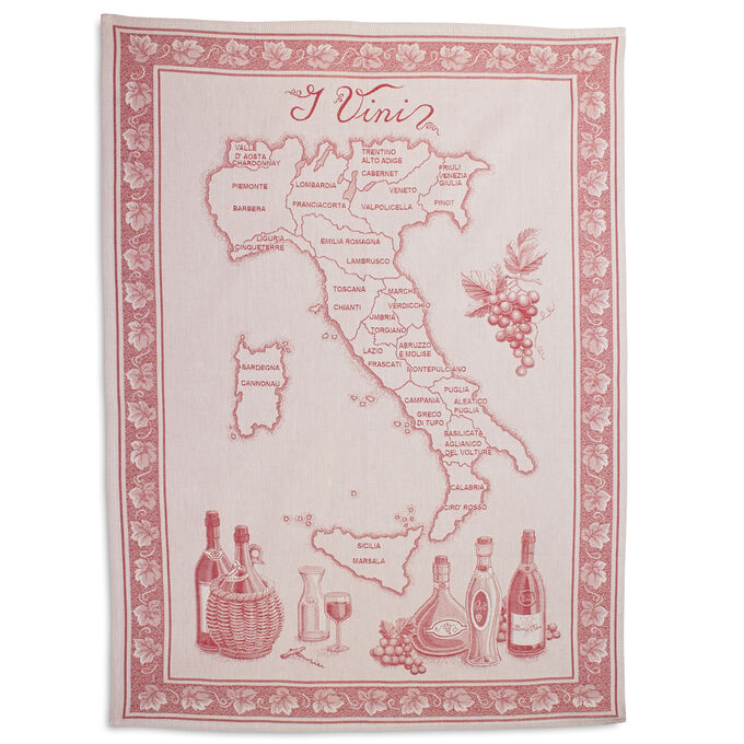 "Vini Italian Jacquard Kitchen Towel, 30"" x 22"""