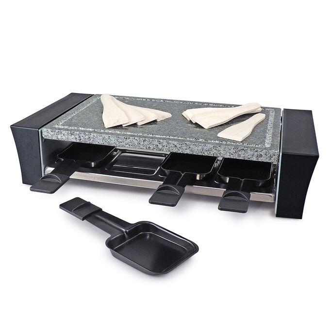 Ticino Raclette Grill with Granite Stone Top