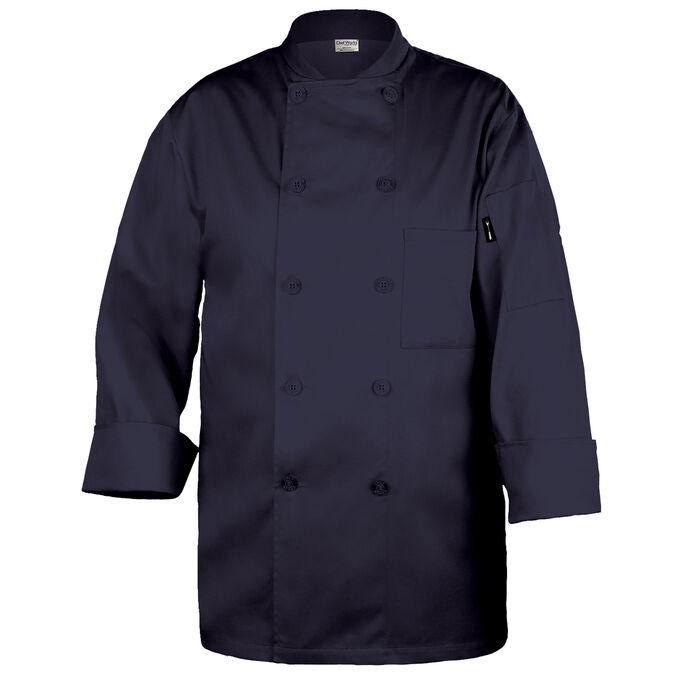 Chef Works Basic Navy Chef's Coat