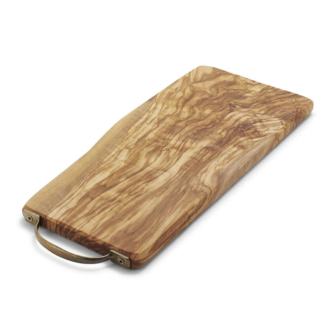 Sur La Table Italian Olivewood Cheese Paddle With Handle
