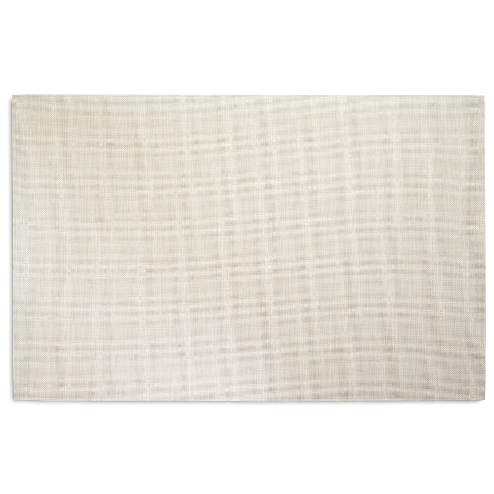 Chilewich Basketweave Floor Mat, Khaki