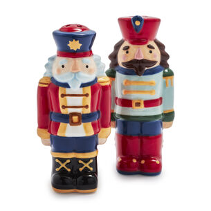 Nutcracker Salt & Pepper Shakers