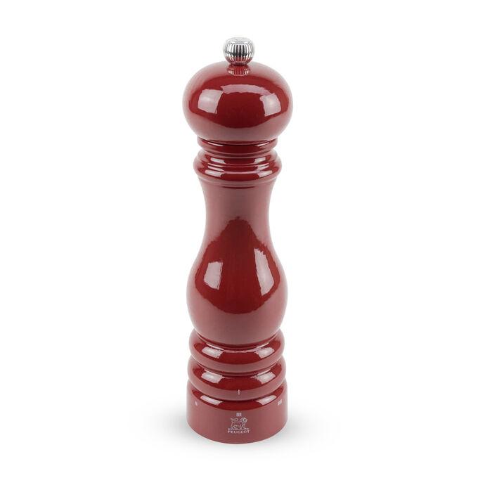 "Peugeot Red-Lacquer Paris U'Select Pepper Mill, 9"""