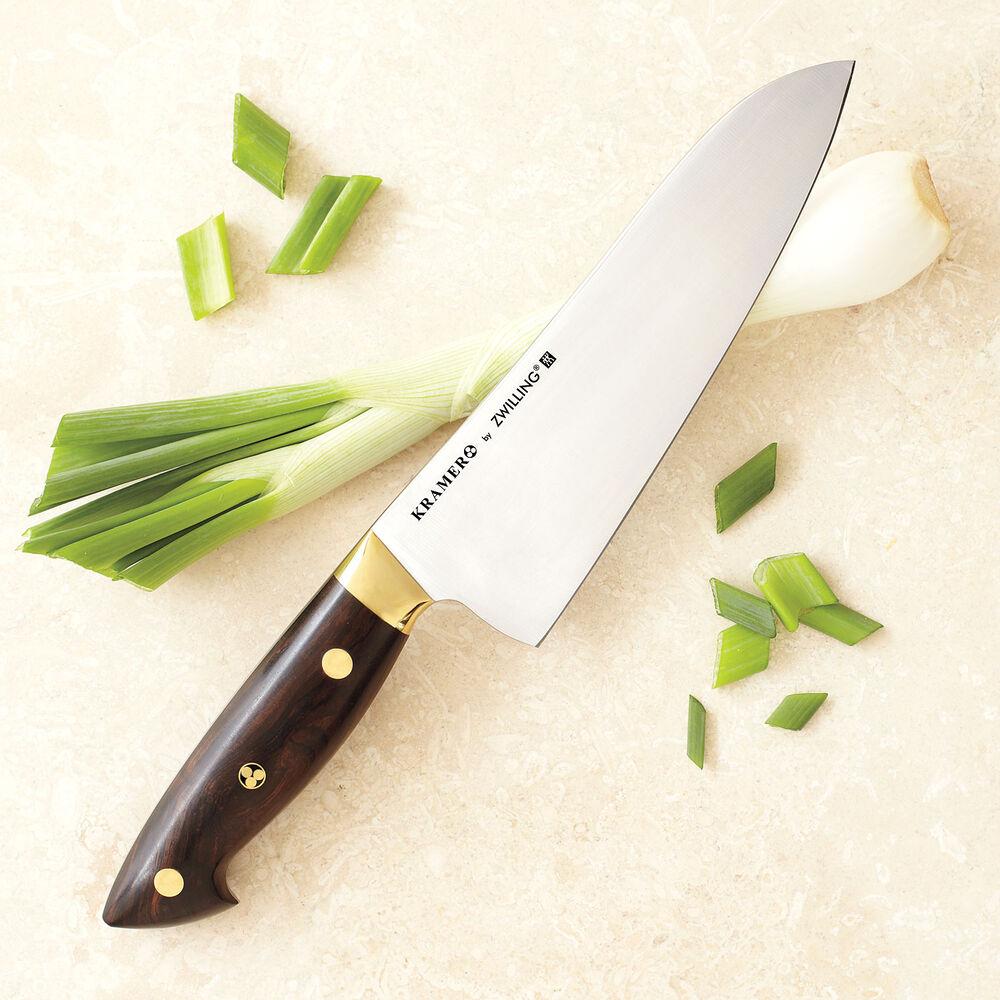 """Bob Kramer 7"""" Carbon Steel Santoku Knife by Zwilling J.A. Henckels"""