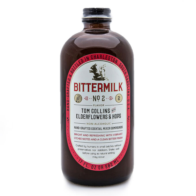 Bittermilk No.2 Tom Collins with Elderflowers and Hops