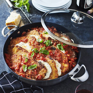 "Scanpan CS+ Chef's Pan with Lid, 12.5"""