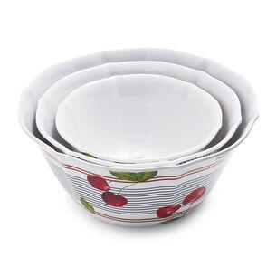 Melamine Picnic Bowls, Set of 3