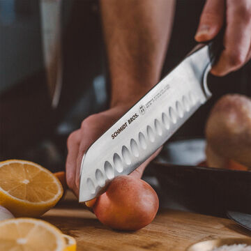 """Schmidt Brothers® Cutlery Heritage Series Santoku Knife, 7"""""""
