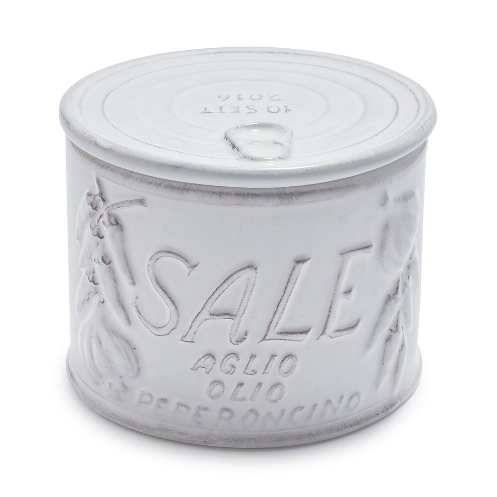 Italian Embossed Salt Box