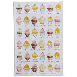"Cupcake Kitchen Towel, 28"" x 18"""
