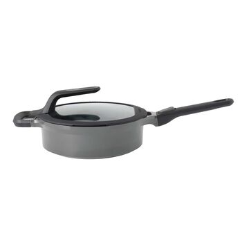 BergHOFF Gem Stay-Cool Double-Handled Sauté Pans with Lid