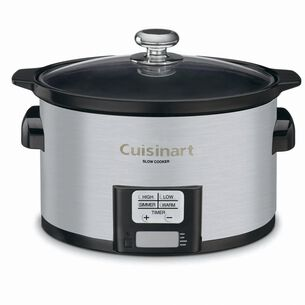 Cuisinart Programmable Slow Cooker, 3.5 qt.