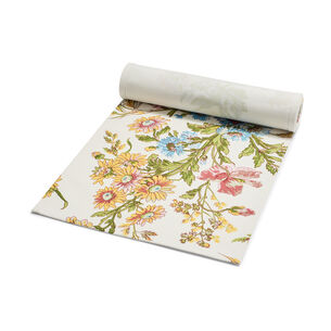 """Wildflower Table Runner by April Cornell, 72"""" x 13"""""""