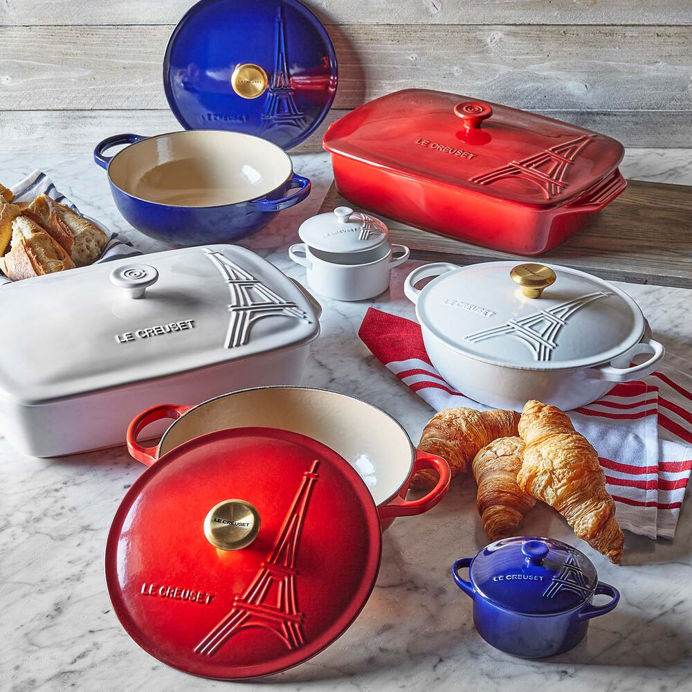 Le Creuset Eiffel Tower Rectangular Baker with Lid, 3.5 qt.