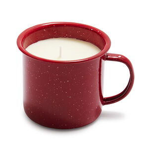 Comfort & Joy Mug Filled with Orange Clove Scented Candle