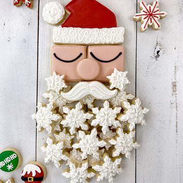 Santa Centerpiece Cookie Cutters, Set of 6