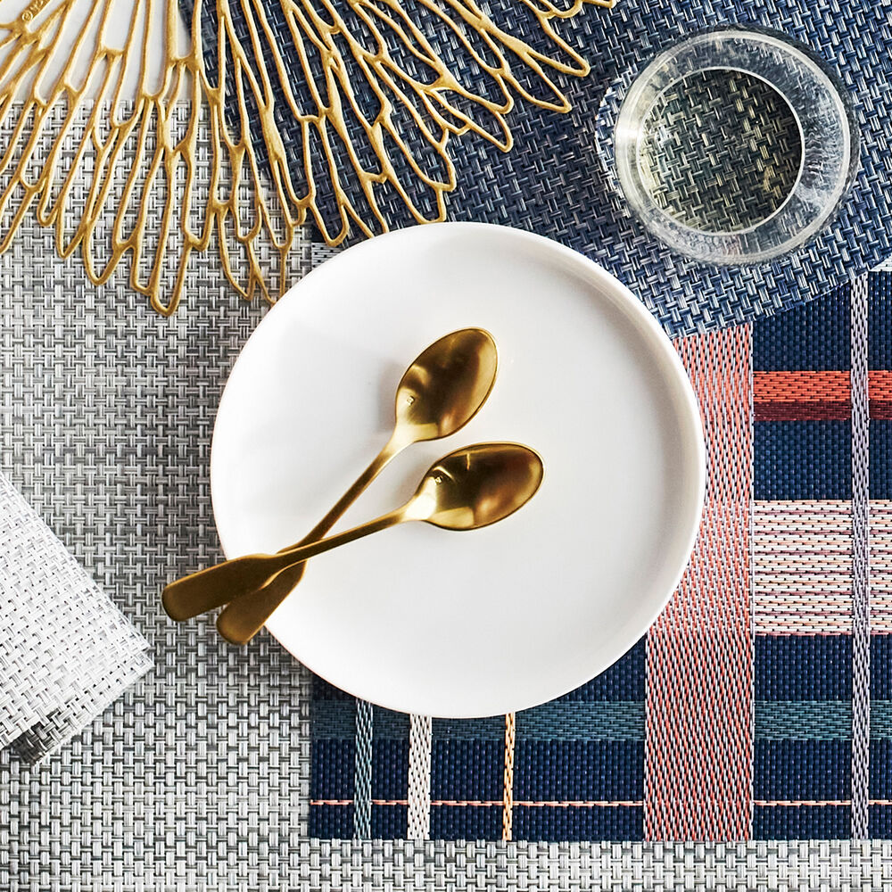 Fortessa Ashton Brushed Gold Serving Spoon