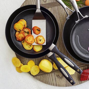 "Scanpan ES5 Skillets, Set of 2, 8"" and 9.5"""