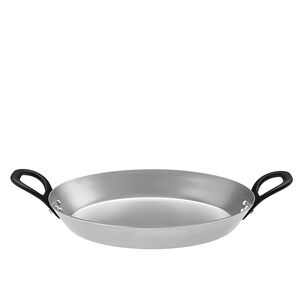 Rösle Steel Skillet with Double Cast-Iron Handles