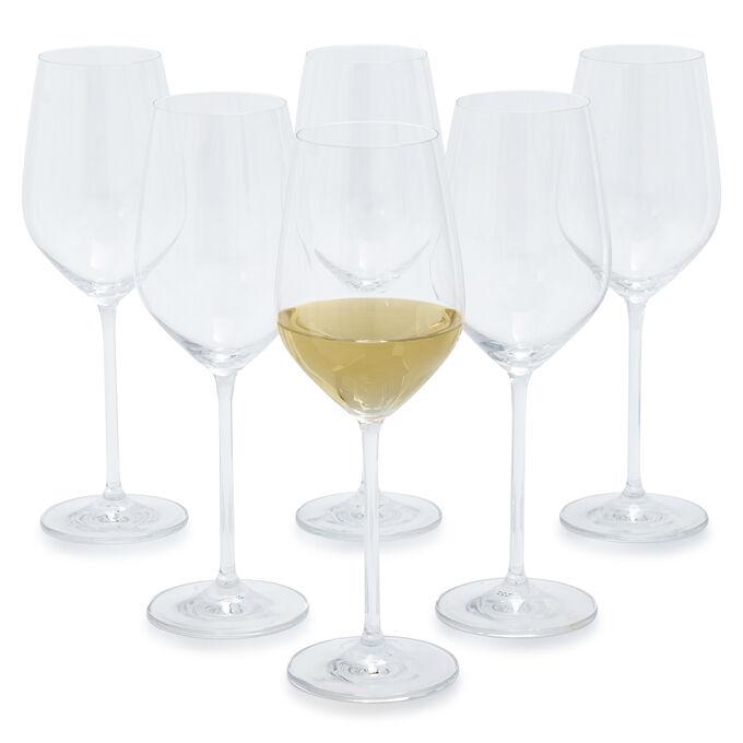 Schott Zwiesel Fortissimo Full-White Wine Glasses, Set of 6