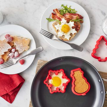 Holiday Silicone Breakfast Molds, Set Of 3