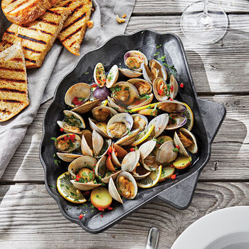 Cast Iron Shell Pan