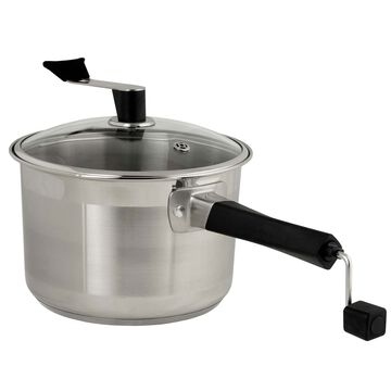 Stainless Steel Platinum Series Popcorn Popper and Snack Maker