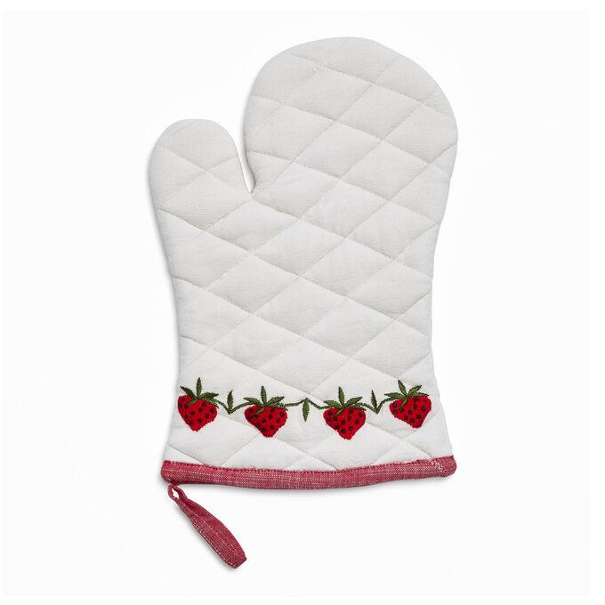 Strawberry Oven Mitt
