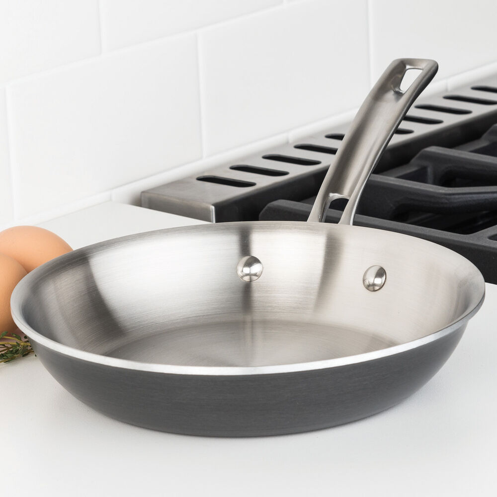 Viking Hard Anodized Stainless Steel Skillet